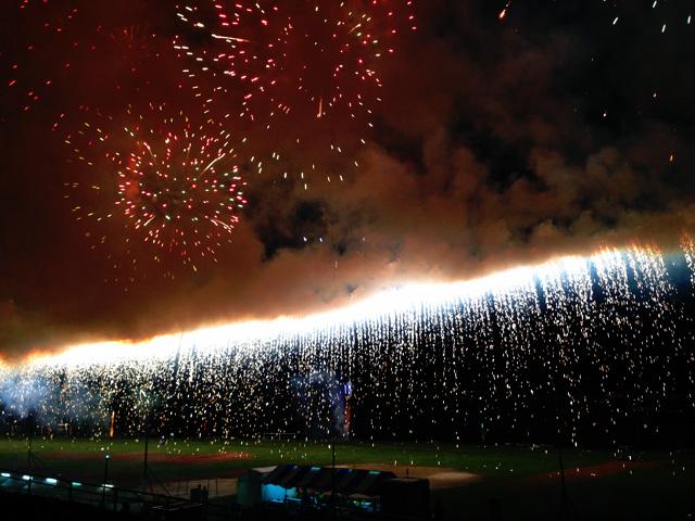 襲撃!第34回 足立の花火の画像。