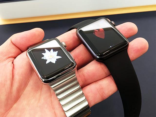 初回出荷分を逃した Apple Watchの画像。
